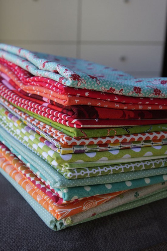 Plus Quilt Fabric Selection