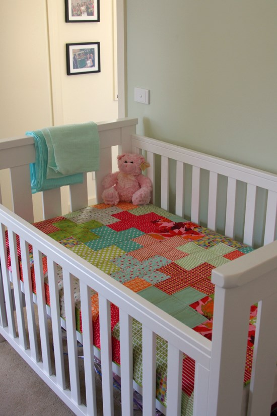 Plus Quilt Complete Cot
